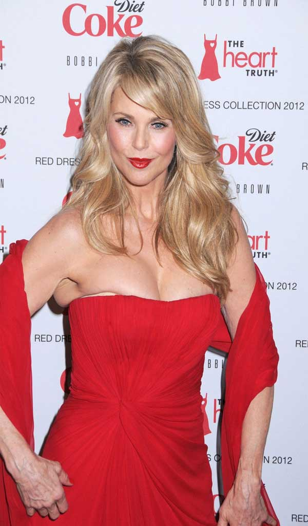 hairstyles for long hair with layers 2013 on Christie Brinkley Long Wavy Cut Hairstyles