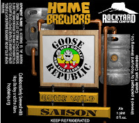 Rockyard Home Brewers Gone Wild Saison