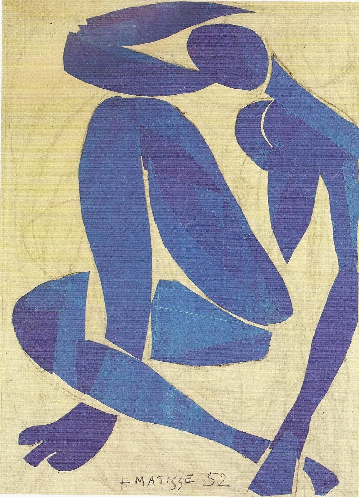 BLAUER AKT - Nach Henri Matisse - dedawandacom