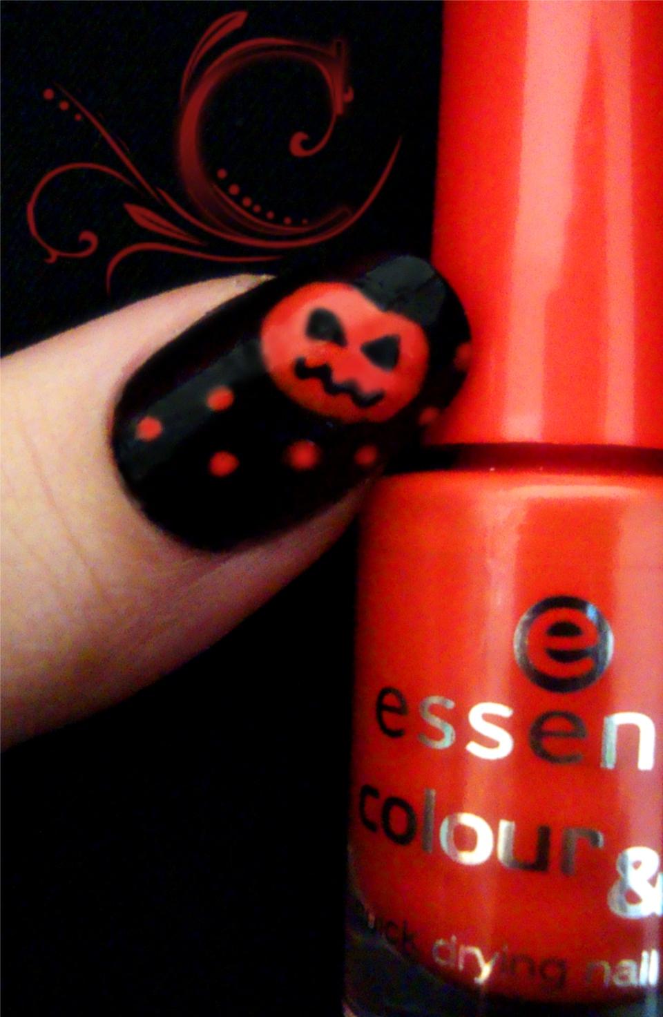 Nageldesign zum Halloween 30 Ideen zum Selbermachen - nageldesign halloween anleitung