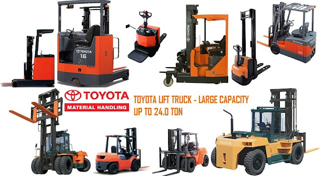 xe nang hang Toyota Forklift