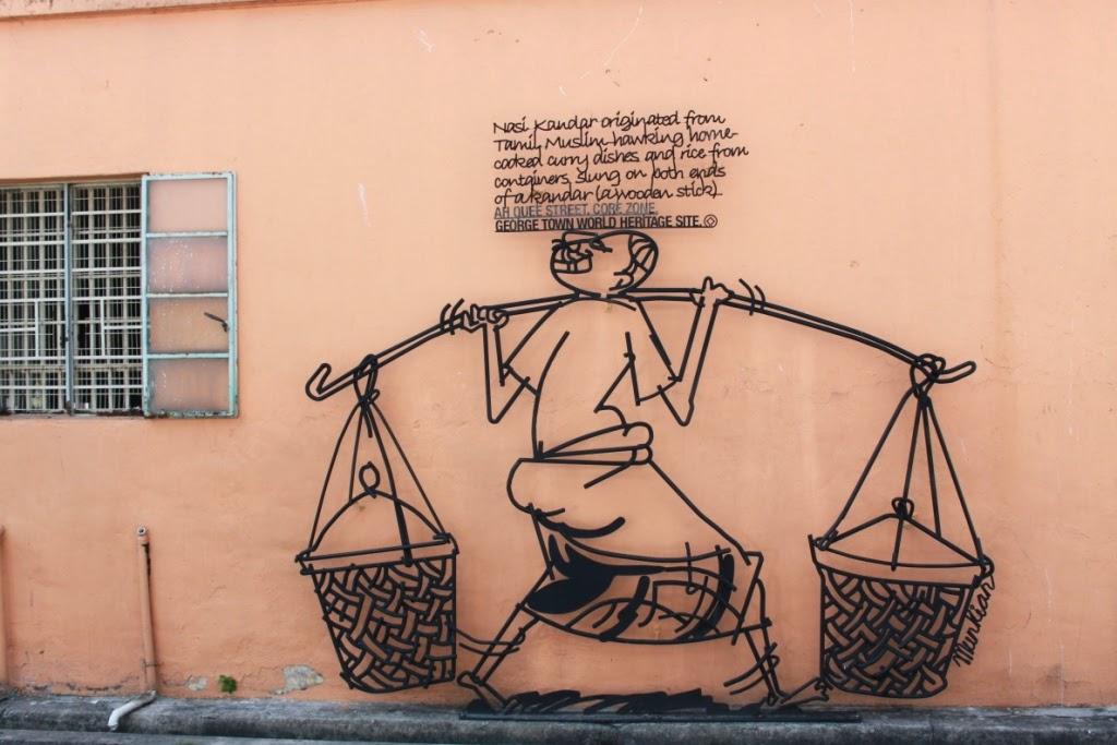 Penang street art - Kandar
