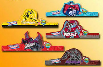 Jollibee party package - Transformers party hats