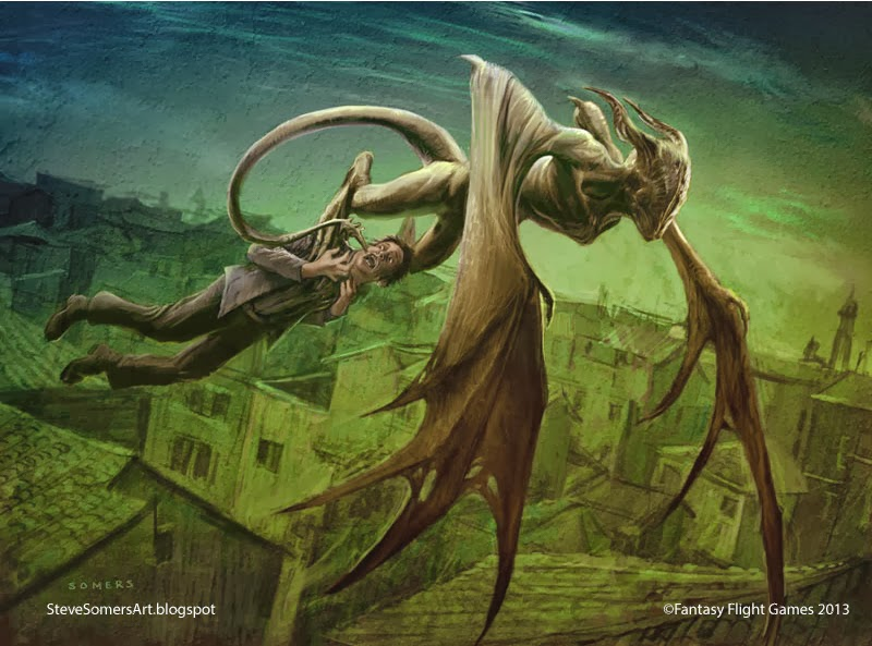 Los Dioses de Lovecraft  y sus criaturas Devious-Nightgaunt
