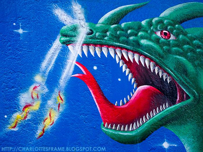 East side gallery, east side, east side graffiti, east side art, east side dragon