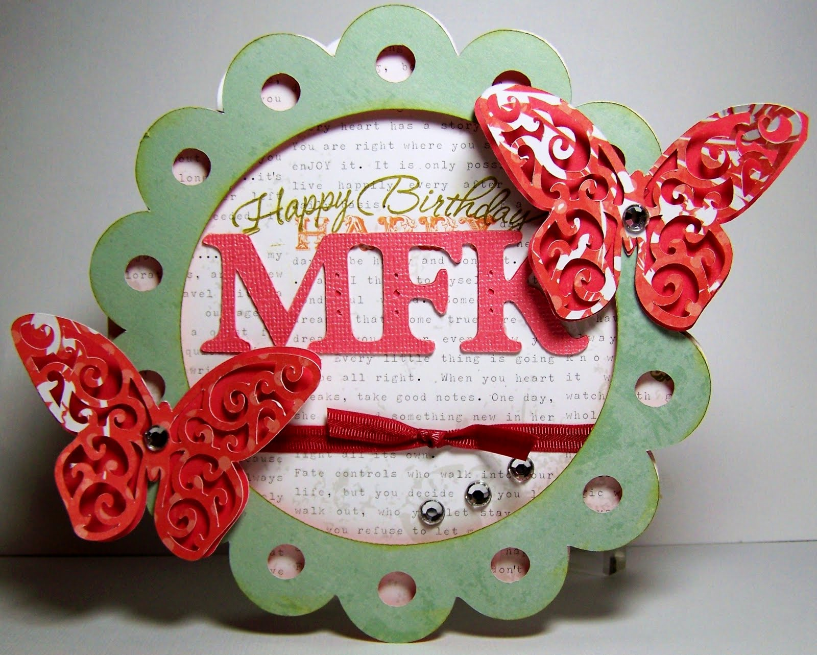 Birthday Wishes For Her Images ~ Busy with the cricky: belated happy birthday wishes to mfk