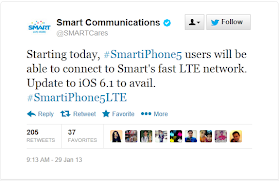 Smart LTE on iPhone 5 is now available