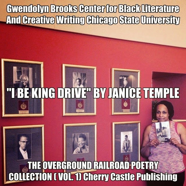 "Janice Temple Published Poet ""I BE KING DRIVE"""