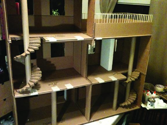 Monster High Doll Skull Academy Spiral Staircase