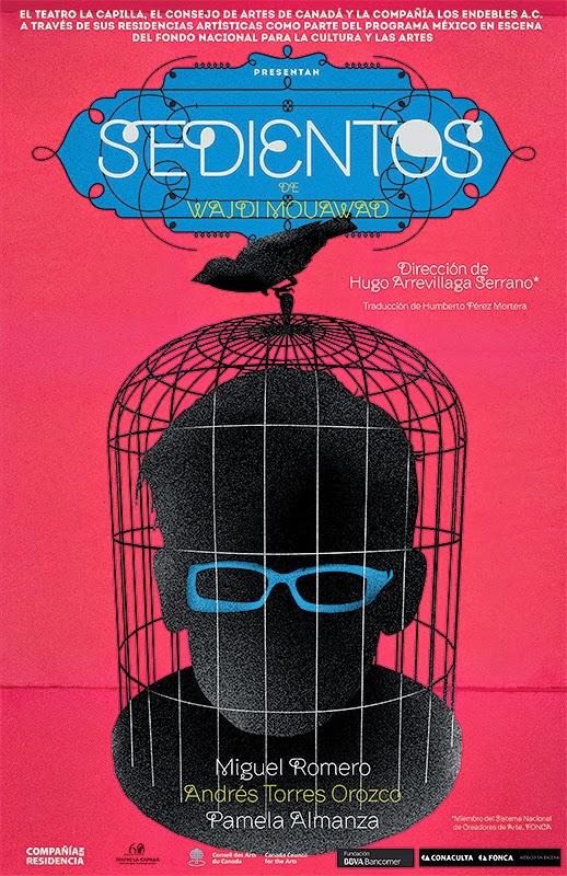 """Temporada de la obra """"Sedientos"""" en el Teatro La Capilla"""