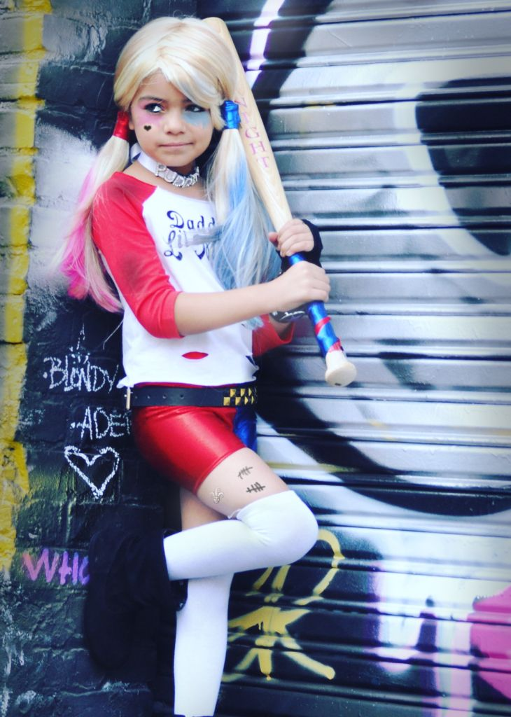 Harley Quinn Costume Ideas for KIDS - Fashion by Dux