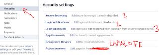 amankan facebook,cegah hacker,akun setting,pengaturan akun