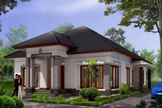 Gambar Desain Rumah Mewah 1 Lantai