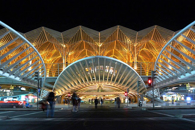 Gare do Oriente Station, Lisbon
