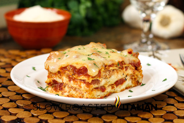 ... - Printable Recipes: 40 Minute Quick & Easy Cheesy Meat Lasagna