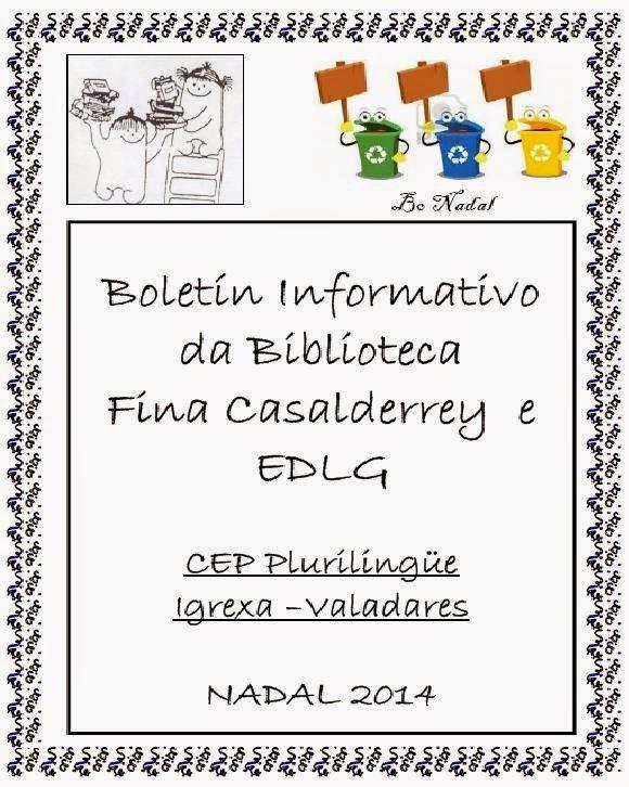 Boletin informativo biblioteca nadal 2014