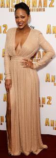Ladies Can You Rock this Daring Outfit like Meagan Good .