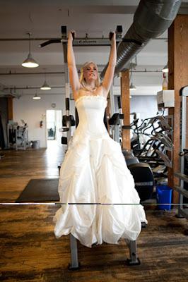 boda, perder peso, novia, fitness, barras