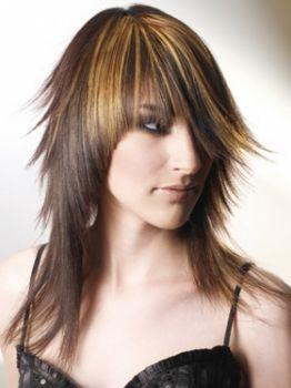 "long choppy layered hairstyles  fashion designer"""