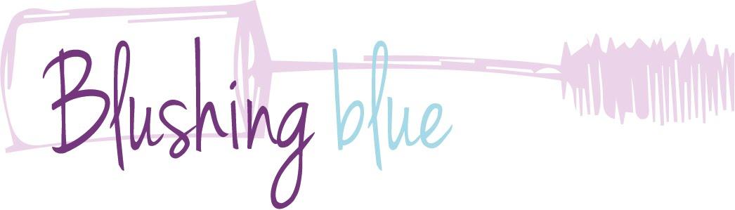 Blushing blue