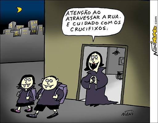 vampiros. crucifixos
