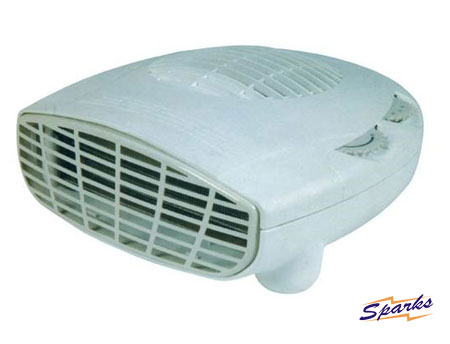 Small Portable Fan Heater with Thermostat