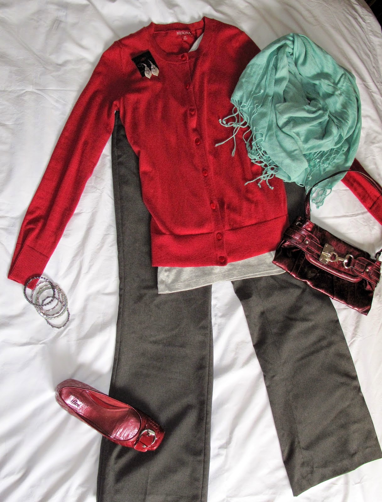 Red and Mint