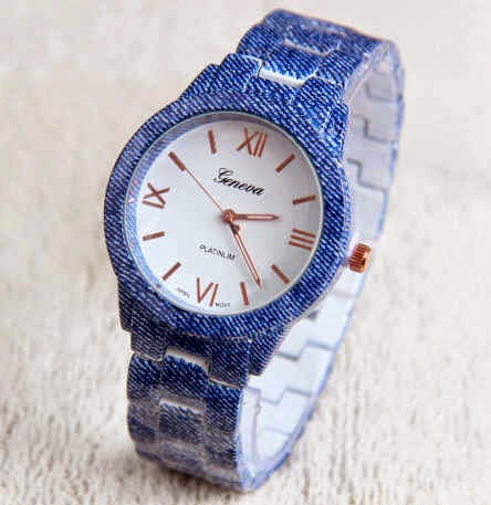 Geneva Platinlim denim blue
