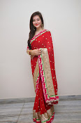 Priyal Gor Dazzling in Red Saree-thumbnail-12