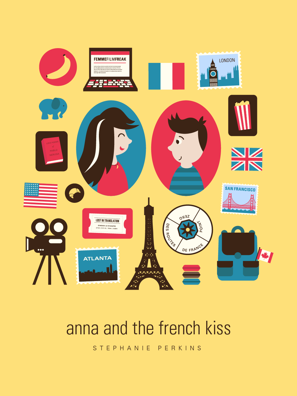 French School Book Cover : Try to walk in the light book review anna and french