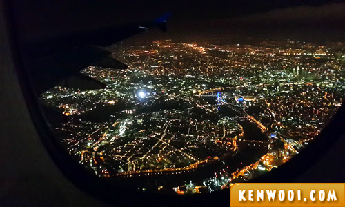 london night city view