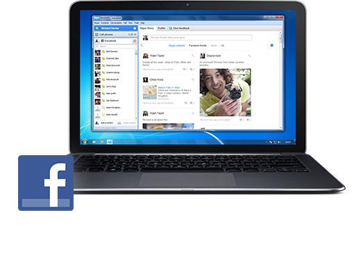 Skype para Facebook? Descubra como!