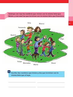 Apoyo Primaria Español 2do grado Bloque 1 lección 1 Nuevos amigos