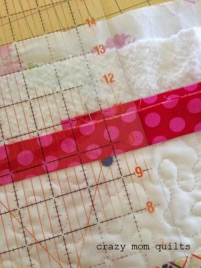 crazy mom quilts: a binding tutorial : how to do quilt binding - Adamdwight.com