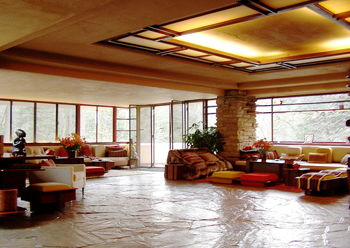 My point of view fallingwater house for Frank lloyd wright piani per la casa