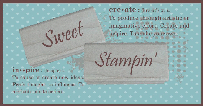 Sweet Stampin&#39; Challenge Blog