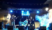 Yolanda y la Banda actuaron con gran éxito en Aranda de Duero