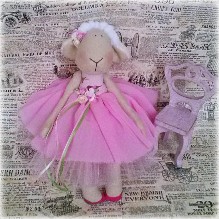 овечка в пачке, новогодняя овечка, год овцы, год овечки, подарок на новый год, новый год 2015 кого, балерина