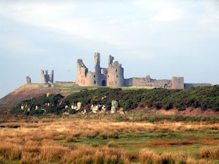 Dunstanburgh, castles, North East England, about Britain