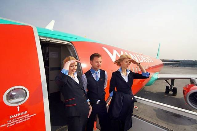 11Ukraine252CWindroseAirlinesAirHostess - Air Hostess From Different Countries
