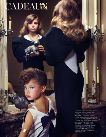 Mr mrs blabla thylane loubry blondeau 10 ans et mannequin choque l 3 - Thylane blondeau taille ...