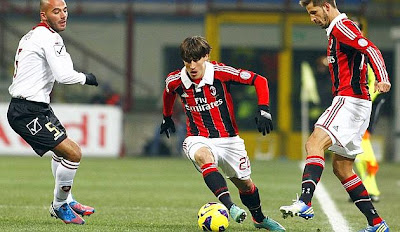 Milan-Reggina 3-0 highlights