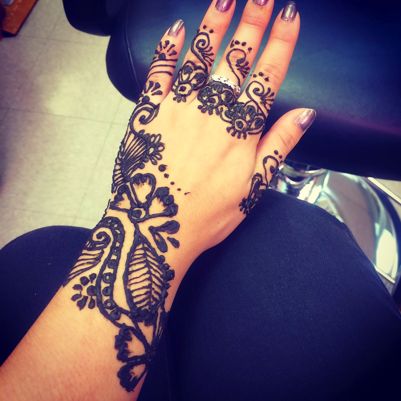Life Without A Fun Sponge LWFS How To Do Your Own Henna