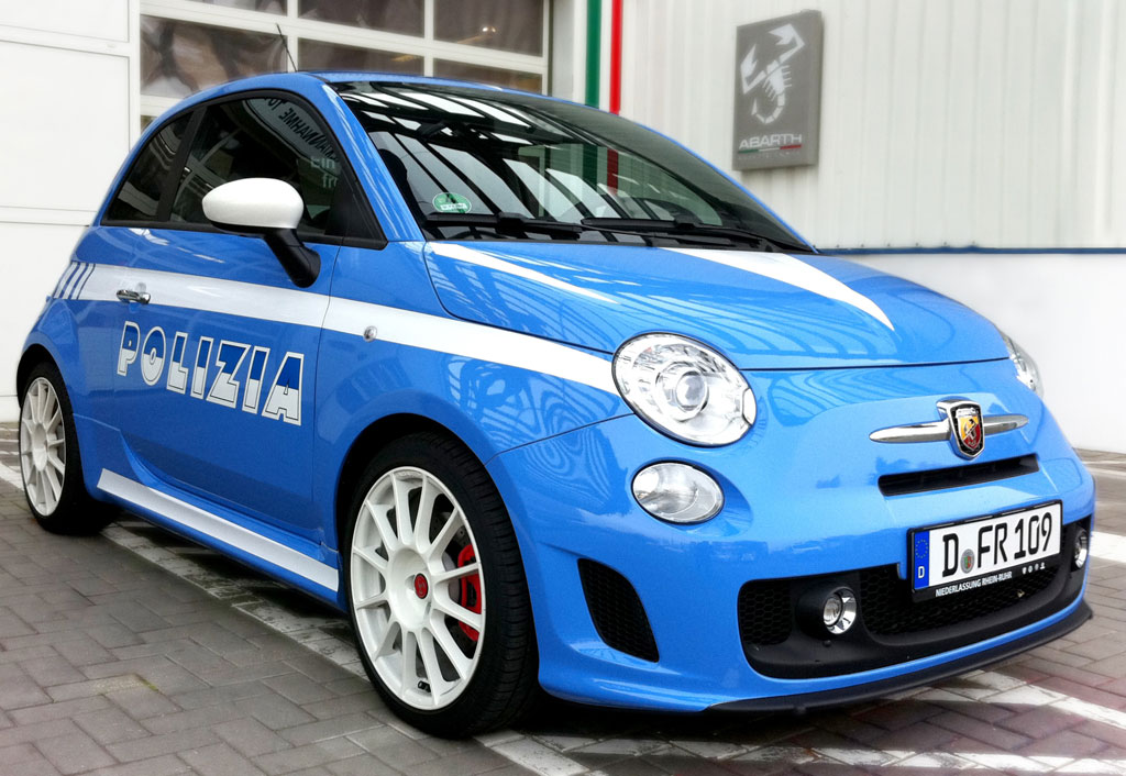information about vehicle fiat 500 abarth police car. Black Bedroom Furniture Sets. Home Design Ideas