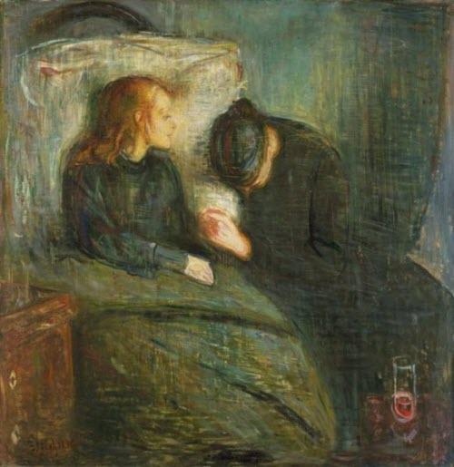 "Edvard Munch, ""The Sick Child,"" 1885"