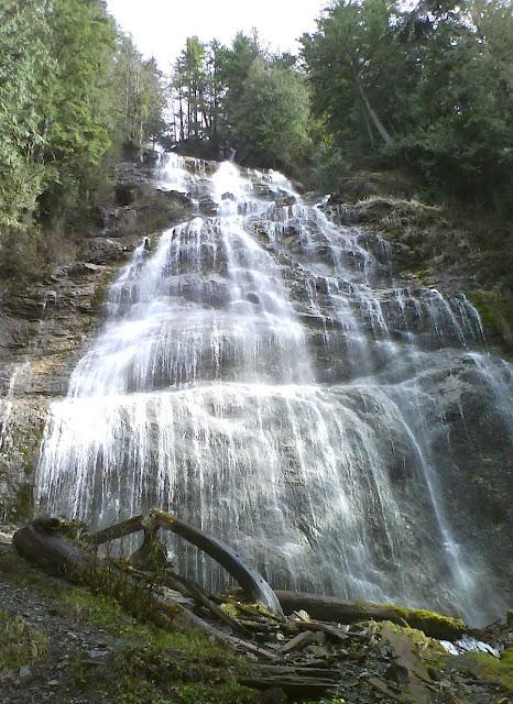 Bridal Veil Falls, British Columbia, Canada, Spring 2010