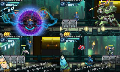 Azure Striker Gunvolt gameplay