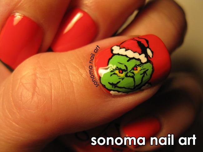 Sonoma Nail Art The Grinch