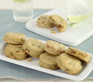 Stilton and Walnut Biscuits Recipe