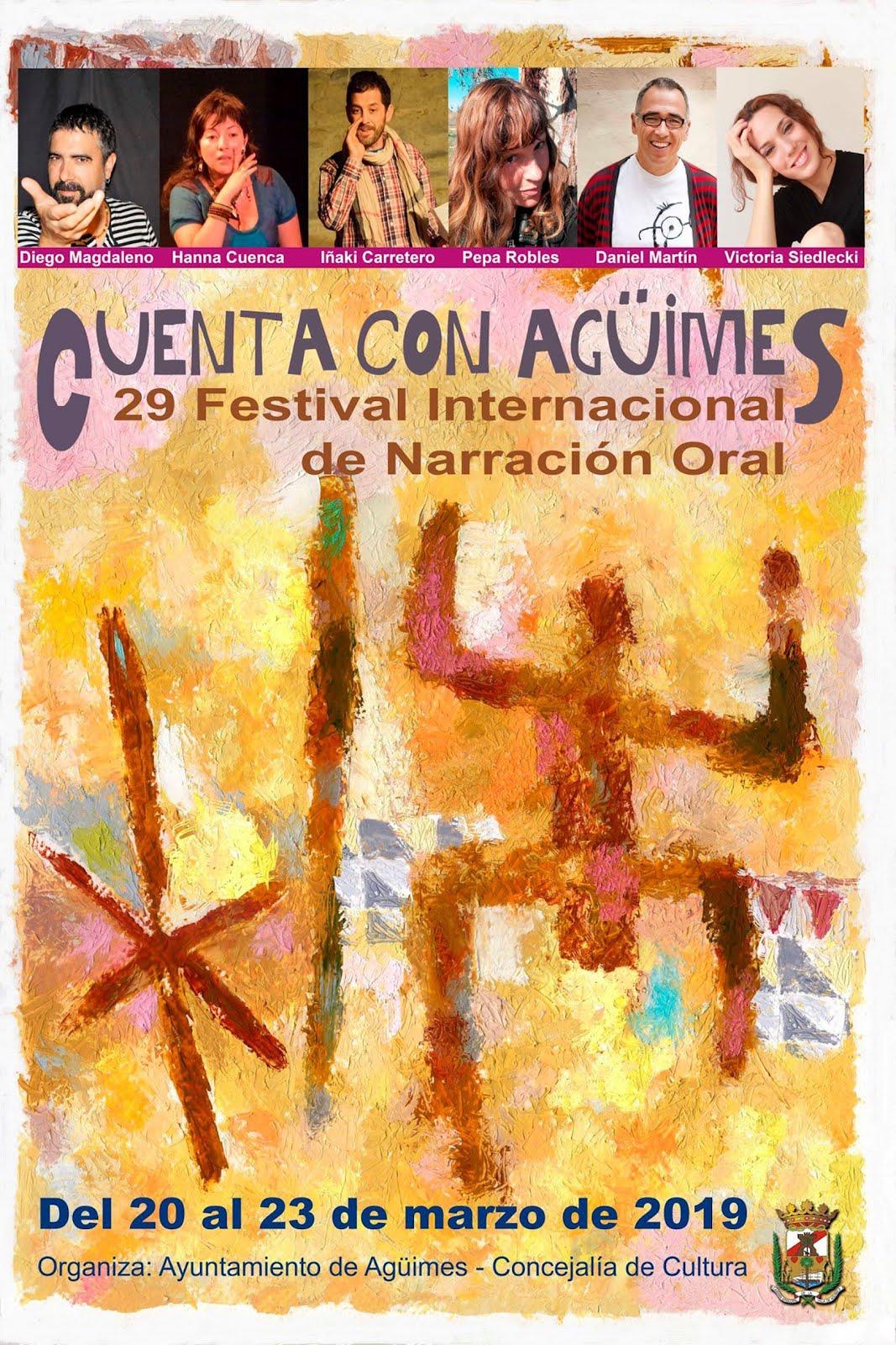 """29º Festival Internacional de Narración Oral """"Cuenta con Agüimes"""""""